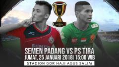 Indosport - Link Live Streaming Piala Indonesia Semen Padang vs PS TIRA.