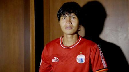 Striker anyar Persija Jakarta, Rishadi Fauzi - INDOSPORT