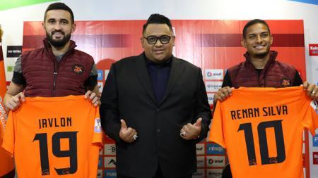 Javlon Guseynov dan Renan Silva resmi diperkenalkan Borneo FC - INDOSPORT