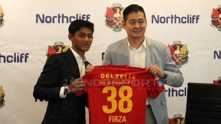 AFC Tubize juga sepakat kerja sama dengan Northcliff sebagai bagian kesepakatan transfer Firza Andika. - INDOSPORT