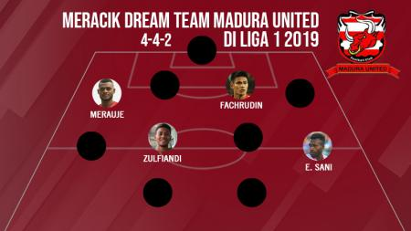 Starting Madura United - INDOSPORT