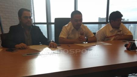 Persija Jakarta gelar konferensi pers mengultimatum Vigit Waluyo - INDOSPORT