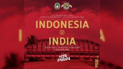 Indosport - Timnas Wanita Indonesia vs India menjadi pertandingan FIFA Match Day pertama di tahun 2019.