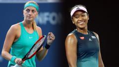 Indosport - Petra Kvitova dan Naomi Osaka akan tanding  di final Australia terbuka