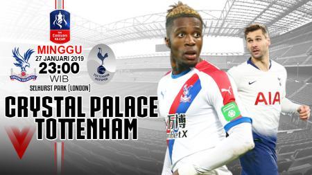 Crystal Palace vs Tottenham (Prediksi) - INDOSPORT
