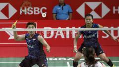 Indosport - Ganda putri Indonesia, Greysia Polii/Apriyani Rahayu baru saja merampungkan babak semifinal Indonesia Masters 2019 pada Sabtu (26/1/2019).