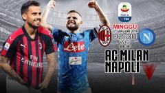 Indosport - AC Milan vs Napoli (Prediksi)