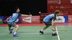 Indosport - Tak hanya jalan terjal yang harus dilalui oleh pasangan Kevin Sanjaya/Marcus Gideon di turnamen China Open 2019, tetapi juga ada hal lainnya, apa itu?