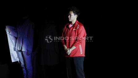 Liliyana Natsir saat di acara farewel dirinya yang dilaksanakan sebelum babak final Indonesia Master