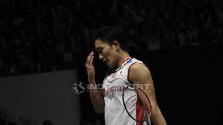 Pihak kepolisian Malaysia kabarnya akan menyelidiki kasus kecelakaan yang menimpa atlet bulutangkis nomor satu dunia dari Jepang, Kento Momota. - INDOSPORT