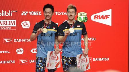Kevin Marcus Juara Indonesia Master 2019 - INDOSPORT