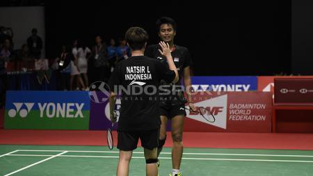 Pebulutangkis ganda campuran, Tontowi Ahmad menyebutkan bahwa pertama kali ia harus bertanding tanpa Liliyana Natsir merupakan sesuatu yang berat. - INDOSPORT