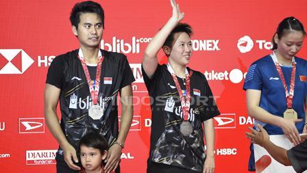 Pasca Final Ganda Campuran Indonesia Master 2019, Tontowi Ahmad/Liliyana Natsir