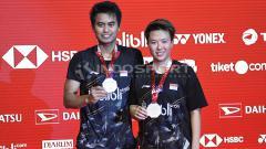 Indosport - Pebulutangkis Tontowi Ahmad/Liliyana Natsir.