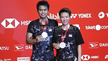 Tontowi Ahmad Hibur Kevin/Marcus yang Gagal di Kejuaraan Dunia 2019