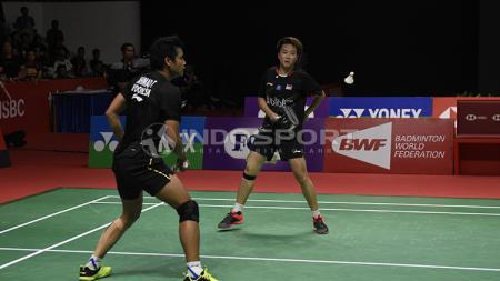 Meski sudah umumkan pensiun, Tontowi Ahmad mengaku masih ingin bermain dengan partner terbaiknya, Liliyana Natsir. - INDOSPORT