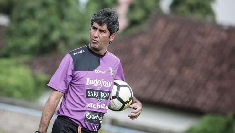 Pelatih Bali United asal Brasil Stefano Cugurra Teco. Copyright: Media Bali United
