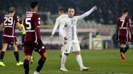 Radja Nainggolan, gelandang serang Inter Milan. - INDOSPORT