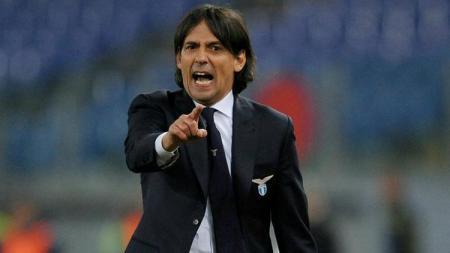 Keberhasilan Lazio menjuarai Coppa Italia 2018/19 membuat sang pelatih, Simone Inzaghi, mencatat rekor individu bagi dirinya sendiri - INDOSPORT