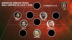 Indosport - Meracik Dream Team Bali United di Liga 1 2019