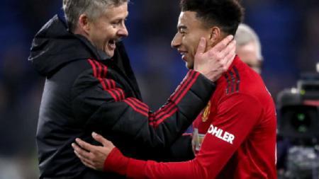 Masih cinta dan tak rela kehilangannya dari skuat Manchester United, ini bukti cinta Ole Gunnar Solskjaer ke Jesse Lingard yang dipinjamkan ke rival Liga Inggris, West Ham. - INDOSPORT