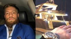 Indosport - Conor McGregor dan yacht barunya.