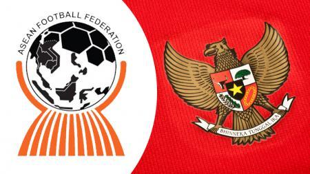 Lambang Timnas Indonesia dan logo AFF - INDOSPORT