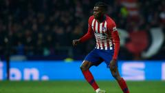 Indosport - Thomas Partey, pemain Atletico Madrid.