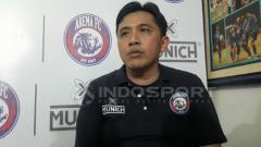 Indosport - Media Officer Arema FC, Sudarmaji.