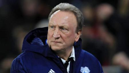 Manajer Cardiff City, Neil Warnock. - INDOSPORT