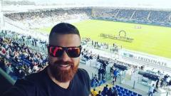 Indosport - Federico Roccio penggemar sepak bola asal Italia dan ia berhasil mengunjungi stadion di seluruh dunia.