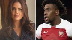 Indosport - Iwobi mendapatkan kalimat rasis dari bintang Bollywood
