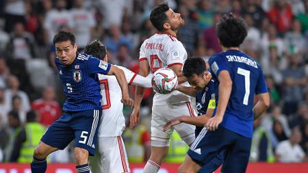 Situasi pertandingan Iran melawan Jepang di semifinal Piala Asia 2019 - INDOSPORT