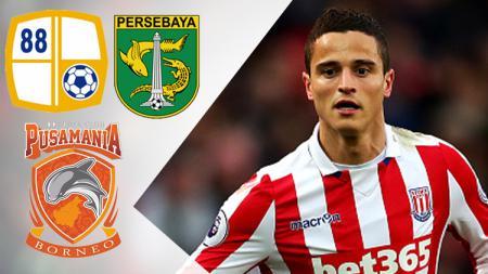 Ibrahim Afellay Persebaya, Barito, Borneo FC - INDOSPORT