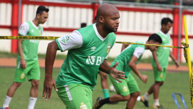 Anderson Salles jalani latihan bersama Bhayangkara FC Copyright: Media Bhayangkara