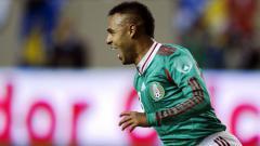 Indosport - Edgar Pacheco saat melakukan selebrasi bersama Meksiko