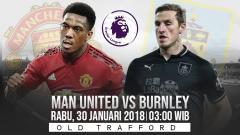 Indosport - Prediksi pertandingan Manchester United vs Burnley.