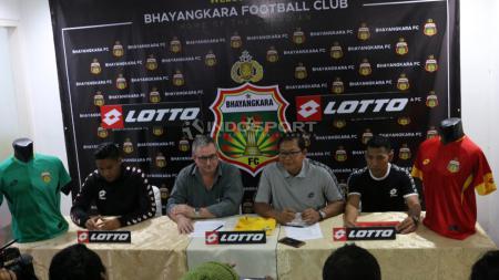 Arungi Liga 1 2019, Bhayangkara Resmi Gaet Sponsor Asal Italia. - INDOSPORT