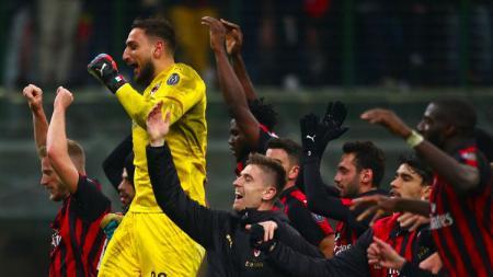 Kemenangan AC Milan atas Napoli di babak 8 besar Coppa Italia - INDOSPORT