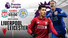 Indosport - Ilustrasi Prediksi Liverpool vs Leicester City.