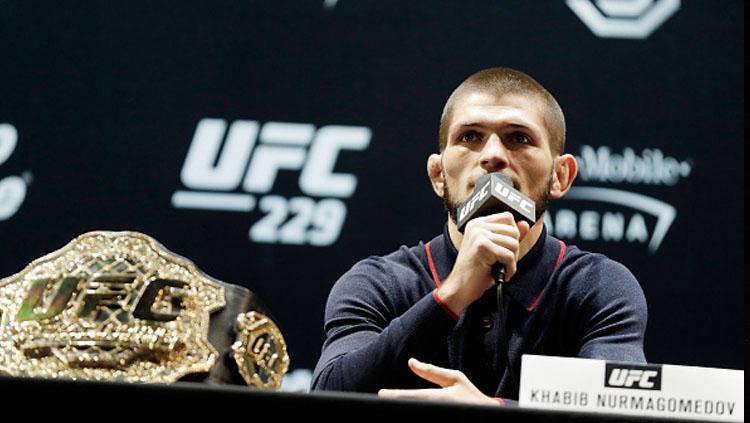 Khabib Nurmagomedov, petarung UFC. Copyright: Getty Images