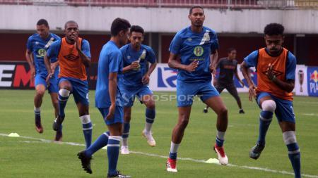 Jelang menghadapi Bali United di kompetisi Shopee Liga 1 2019, Minggu (27/10/19) di Stadion I Wayan Dipta, Gianyar, Barito Putera masih berada dalam kondisi kurang baik. - INDOSPORT