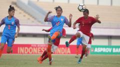 Indosport - Timnas Putri Indonesia vs India