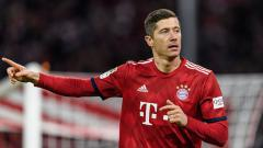 Indosport - Robert Lewandowski, striker Bayern Munchen.