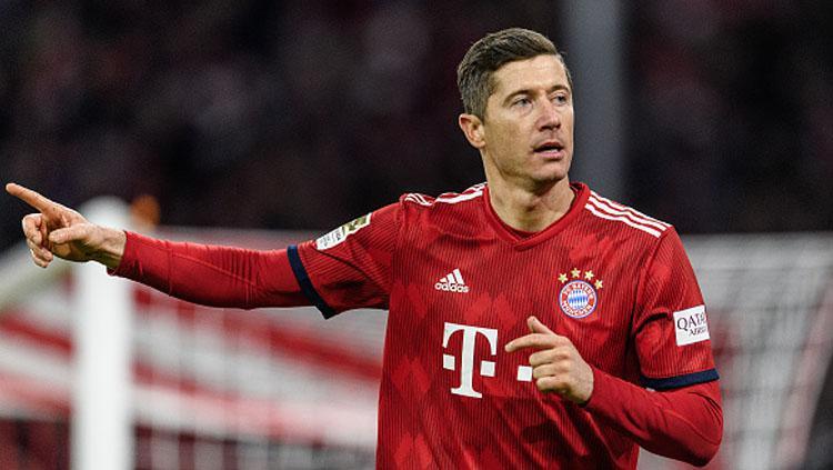Robert Lewandowski, striker Bayern Munchen. Copyright: INDOSPORT