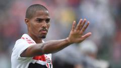 Indosport - Gabriel Novaes striker Sao Paulo