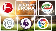Indosport - Hasil Liga Elite Eropa