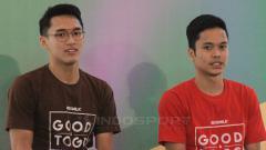 Indosport - Media China menyebut dua pebulutangkis Indonesia, yakni Anthony Sinisuka Ginting dan Jonatan Christie memiliki masih depan yang cerah.