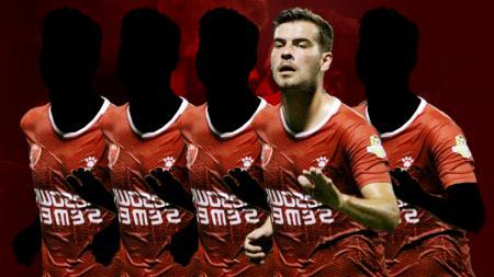 Wiljan Pluim salah satu pemain termahal PSM Makassar - INDOSPORT