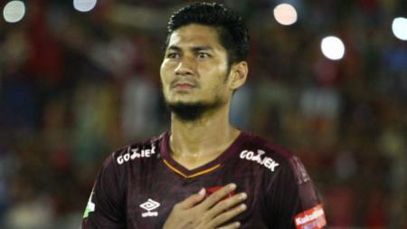 Bek PSM Makassar, Abdul Rahman. - INDOSPORT